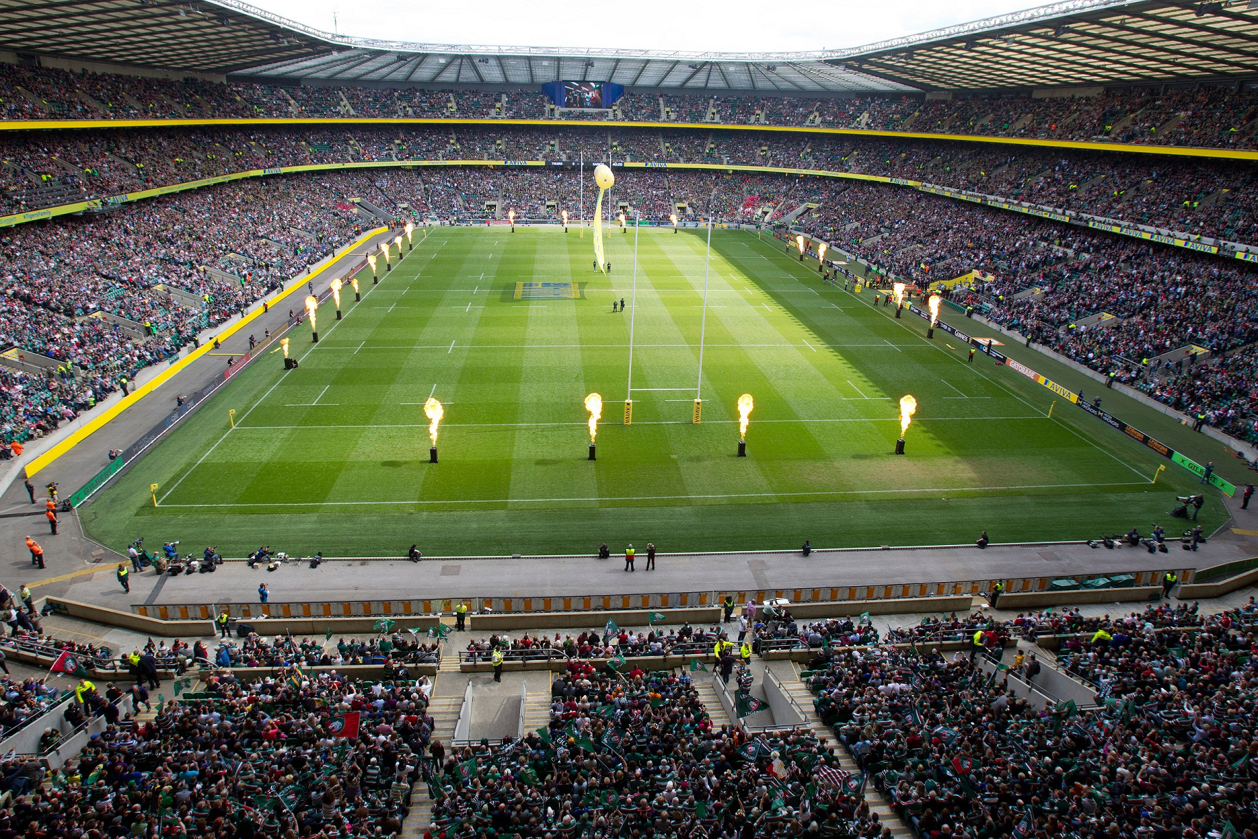 Rugby Premiership final at Twickenham