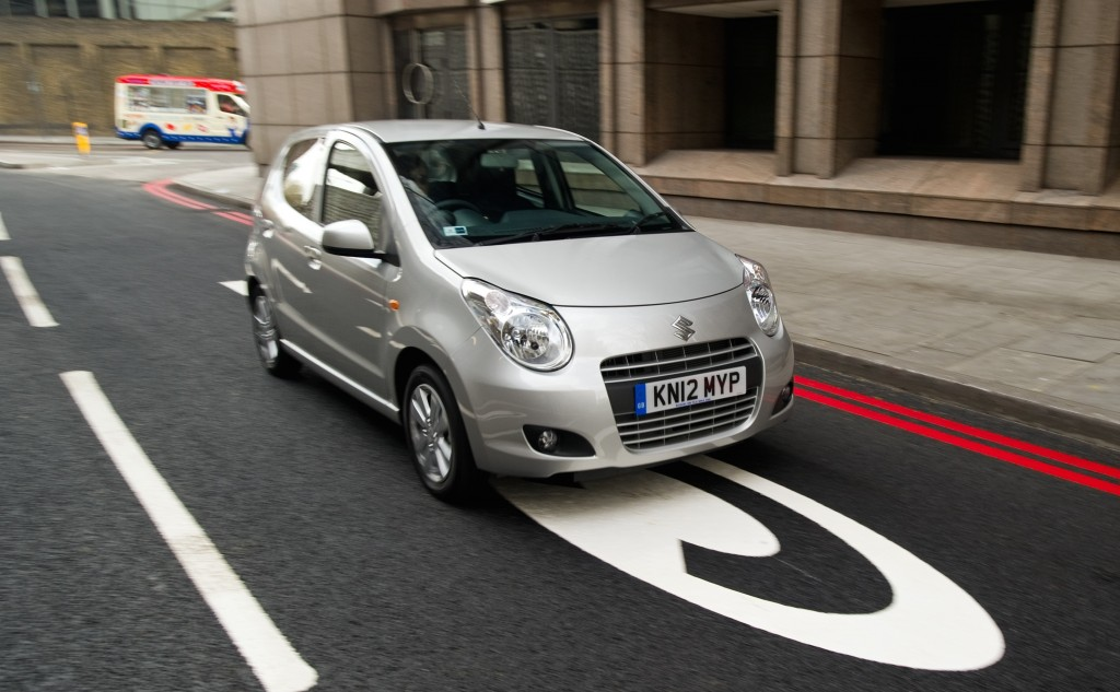 Suzuki Alto in the London Congestion Charge zone