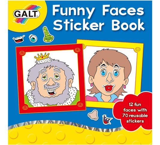 Galt_funny_faces_sticker_book