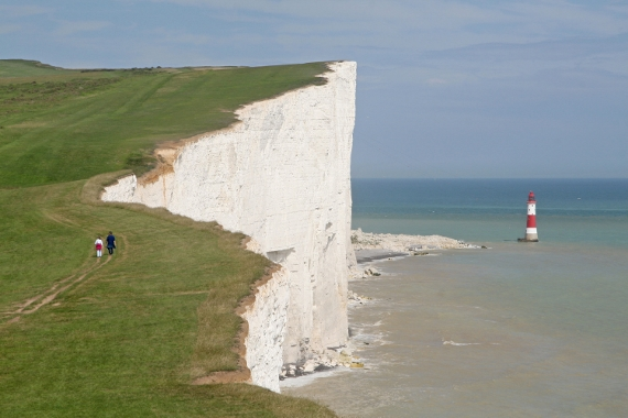 View out to sea from Beachy Head (Picture © VisitEastbourne.com)