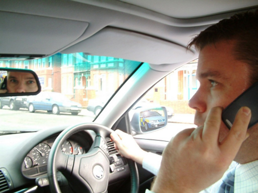 Using a phone at the wheel has been illegal since 2003