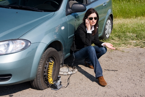Breakdown cover can save wasting holiday time (Picture © TyreSafe)