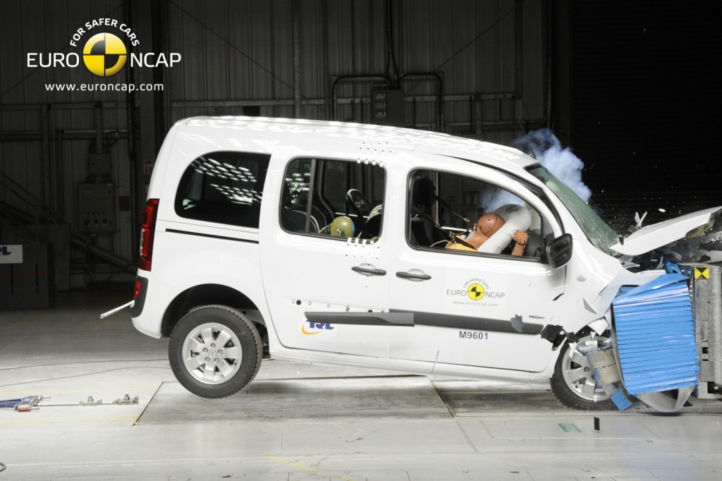 Popular models are crash tested every year (Picture © EuroNCAP)