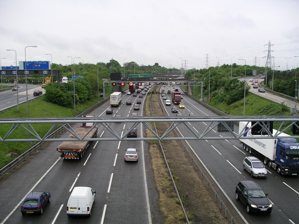 The 70mph motorway limit was set in 1965 (Picture © Emissions Analytics)