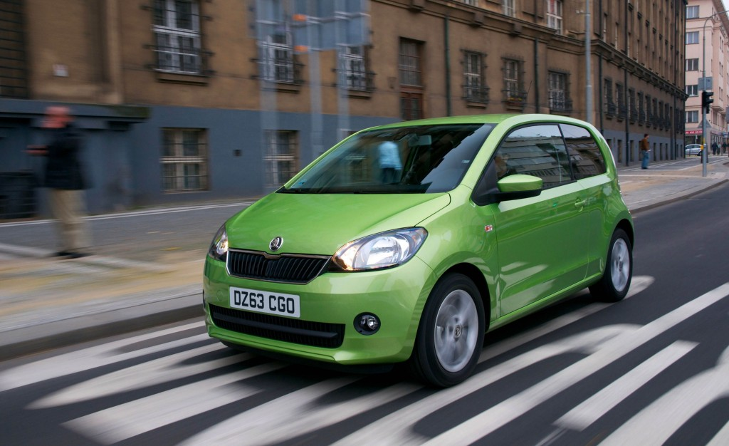 Small but perfectly formed: The best city car around (Picture © Skoda)