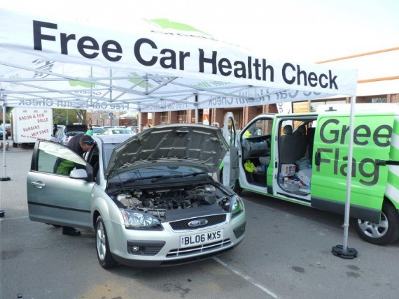 As well as free car inspections by experts, drivers can win £100-worth of fuel
