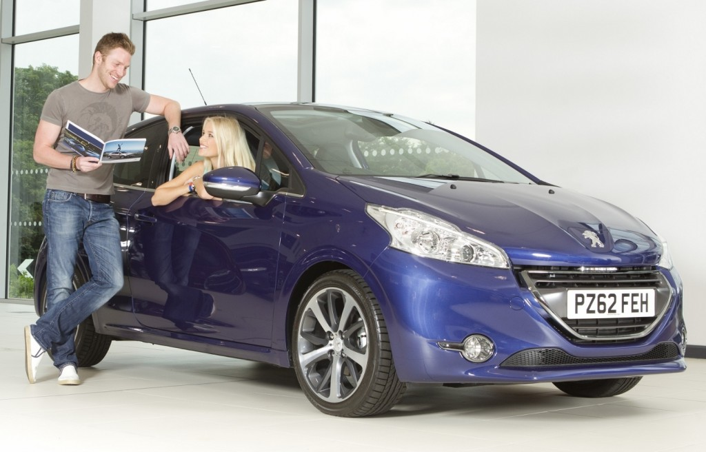Not every young driver can afford a new car... But whatever they choose, the smaller and safer the better (Picture © Peugeot)