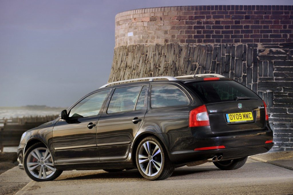 Octavia is the first of two Skodas in our top 10 (Picture © Skoda)