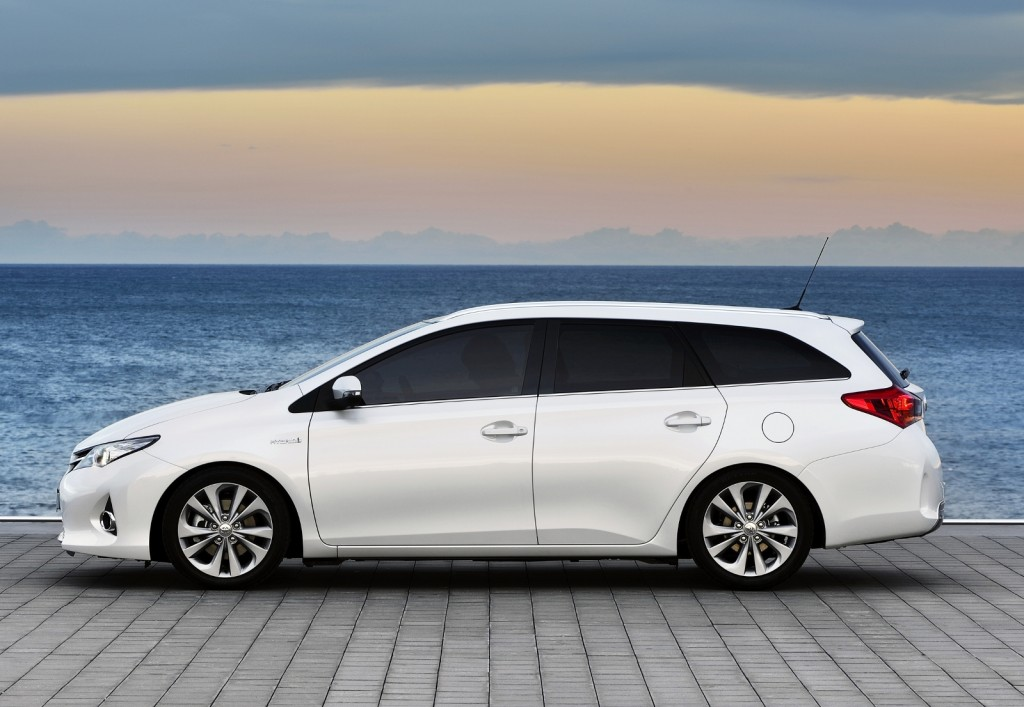Toyota Auris Touring Sports offers the most litres per pound (Picture © Toyota)
