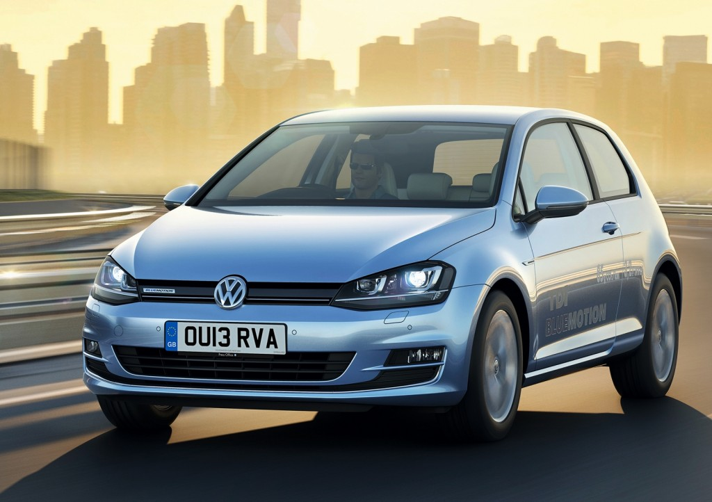 VW Golf 1.6TDI is claimed to do an impressive 74.3mpg (Picture © Volkswagen)