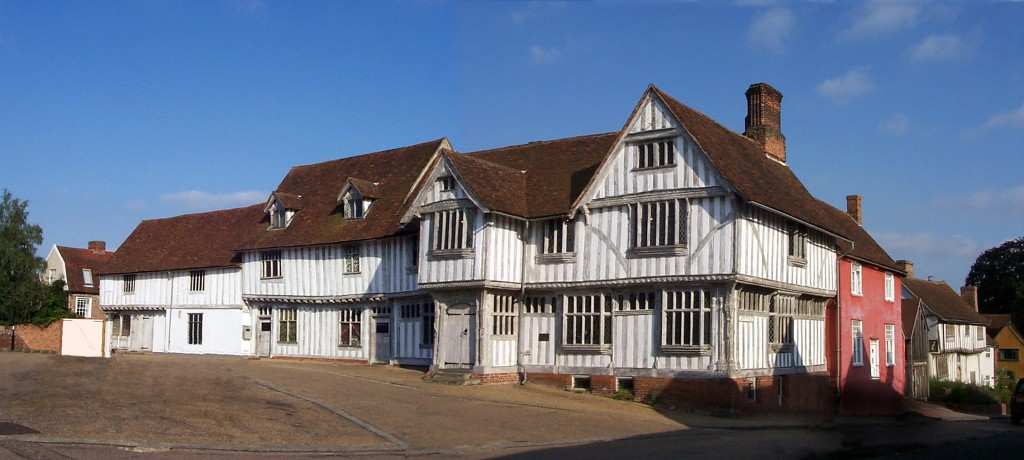 Step back in time at Lavenham Guildhall (Picture © Lavenham Photographic)