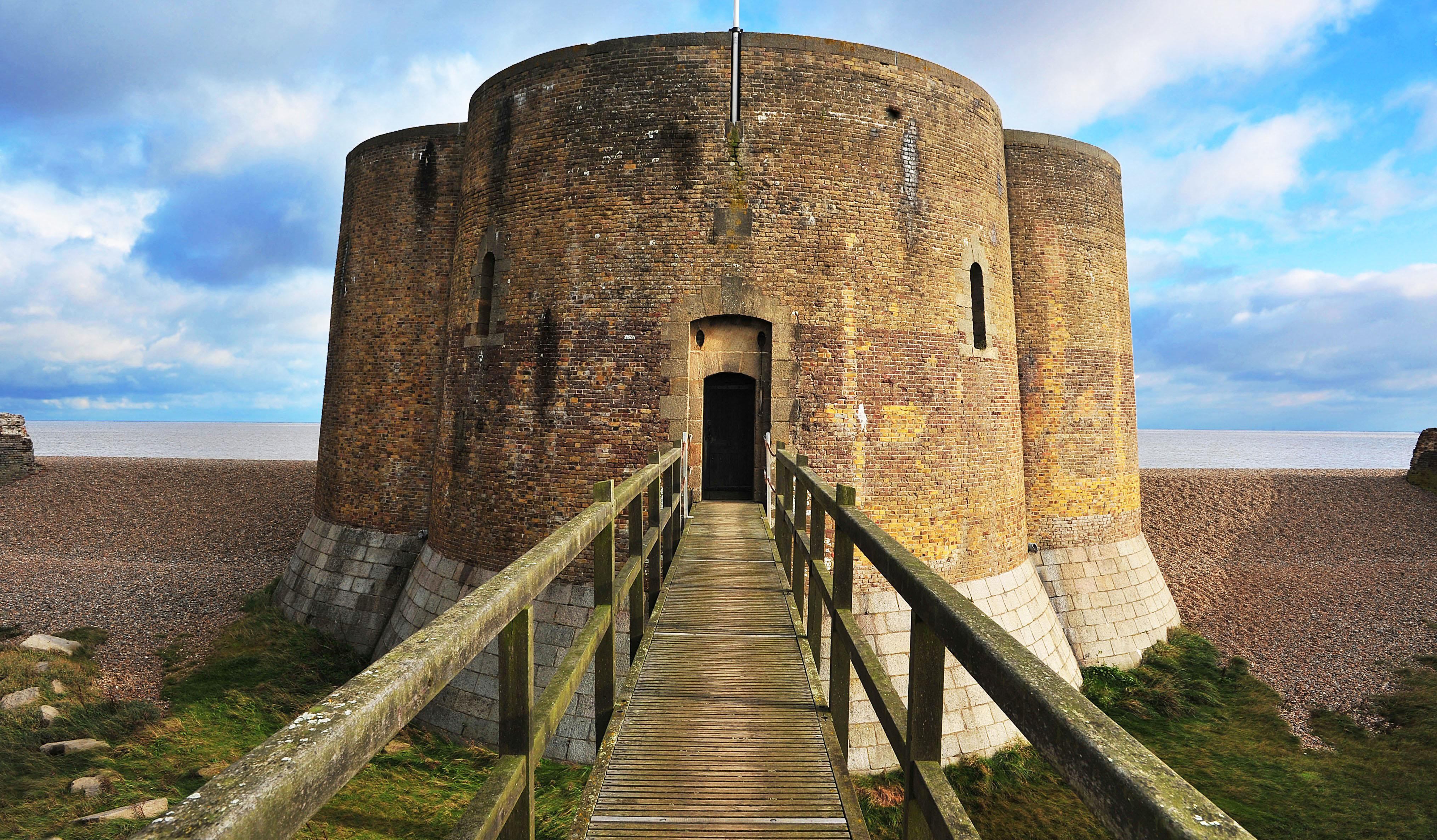 Stay at the Martello Tower in Aldeburgh