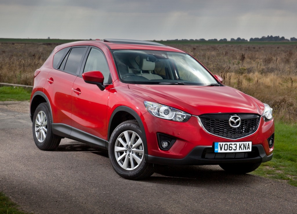Mazda CX-5: Brilliant to drive but still spacious enough for four (Picture © Mazda)