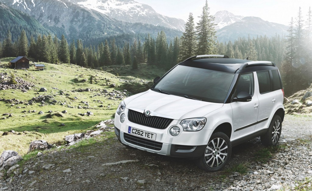 Skoda Yeti: Looks like a Tonka Toy but tough and reliable (Picture © Skoda)