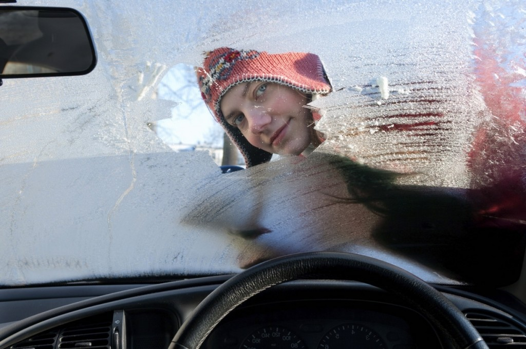 Screen wash can prevent windscreen washer bottles freezing on cold mornings