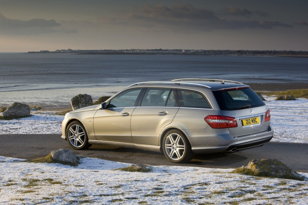 Mercedes E250 estate car for all the family