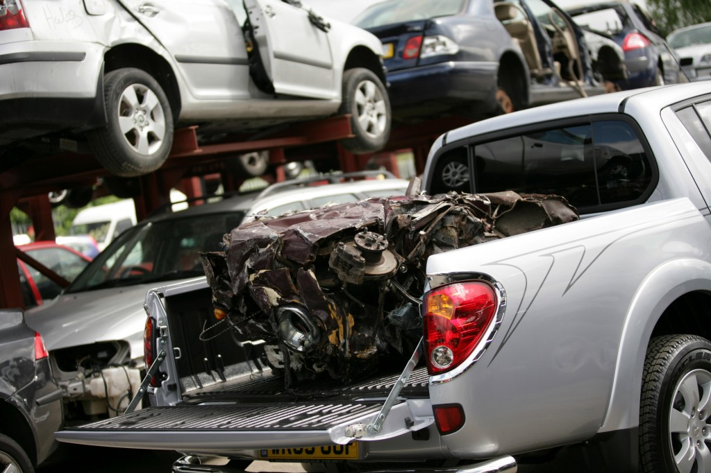 Scrapped cars are no longer crushed