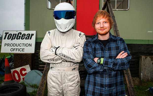 Ed Sheeran appears on Top Gear Series 22