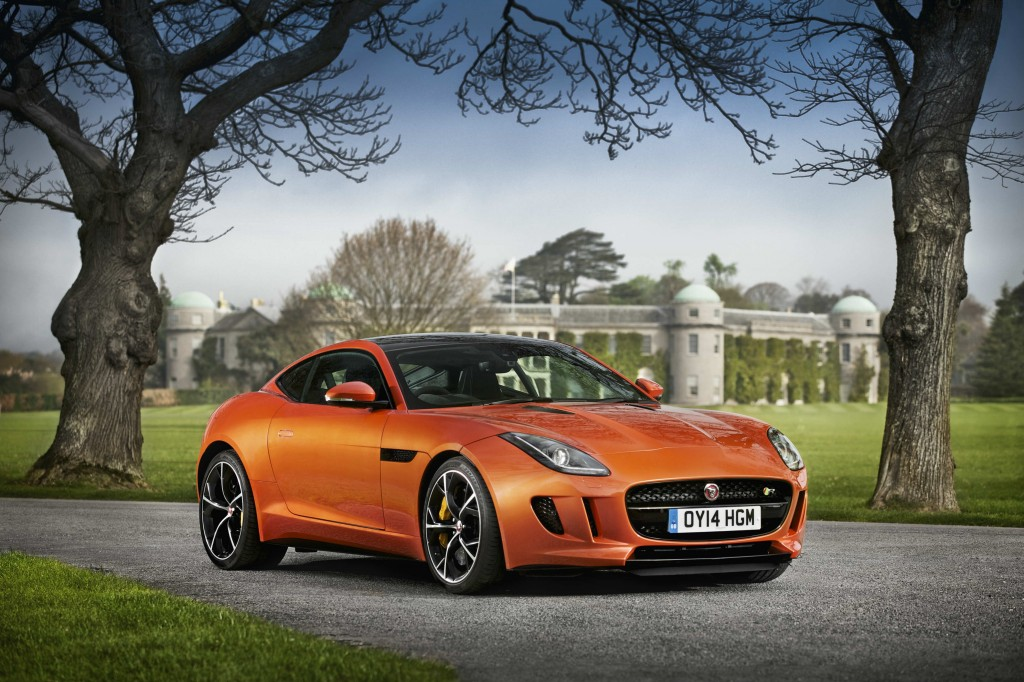 Top Gear episode 7 Jaguar F-type R Coupe