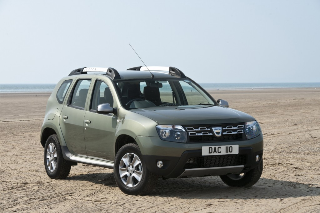 Small SUV Dacia Duster