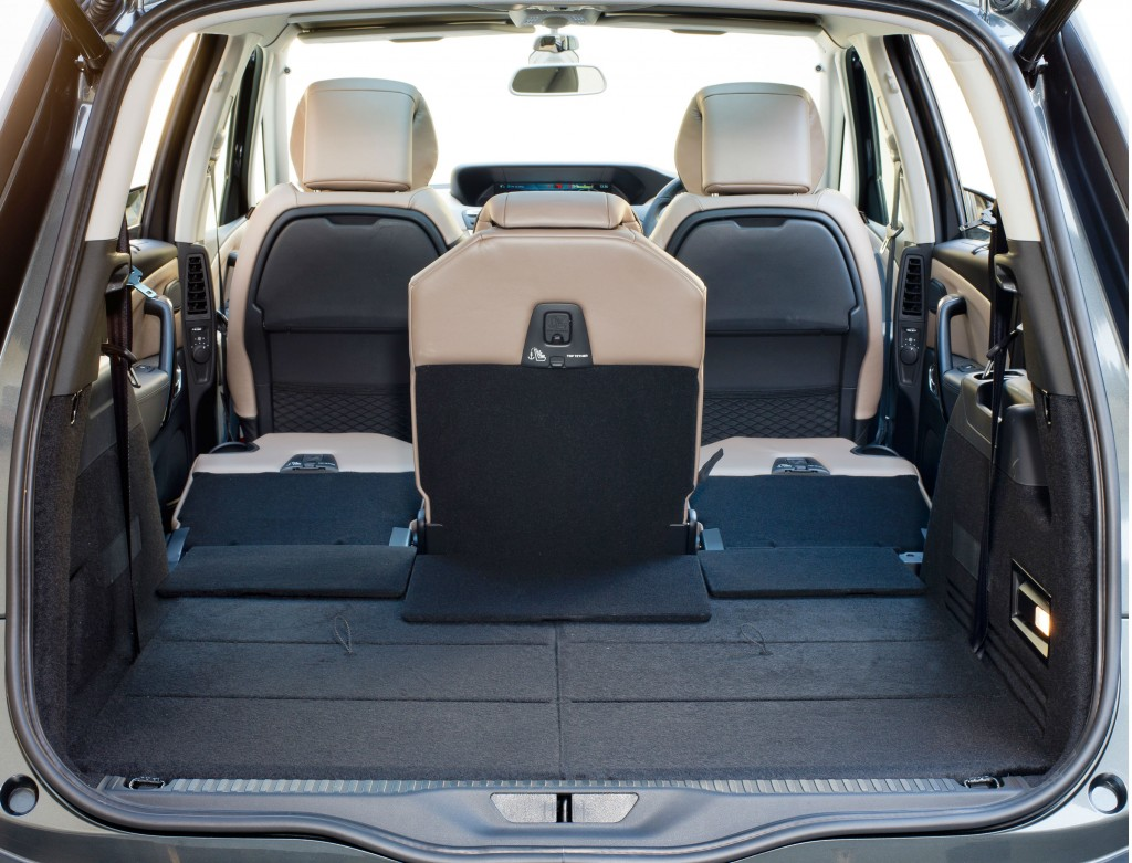 Citroen Grand C4 Picasso boot space is impressive