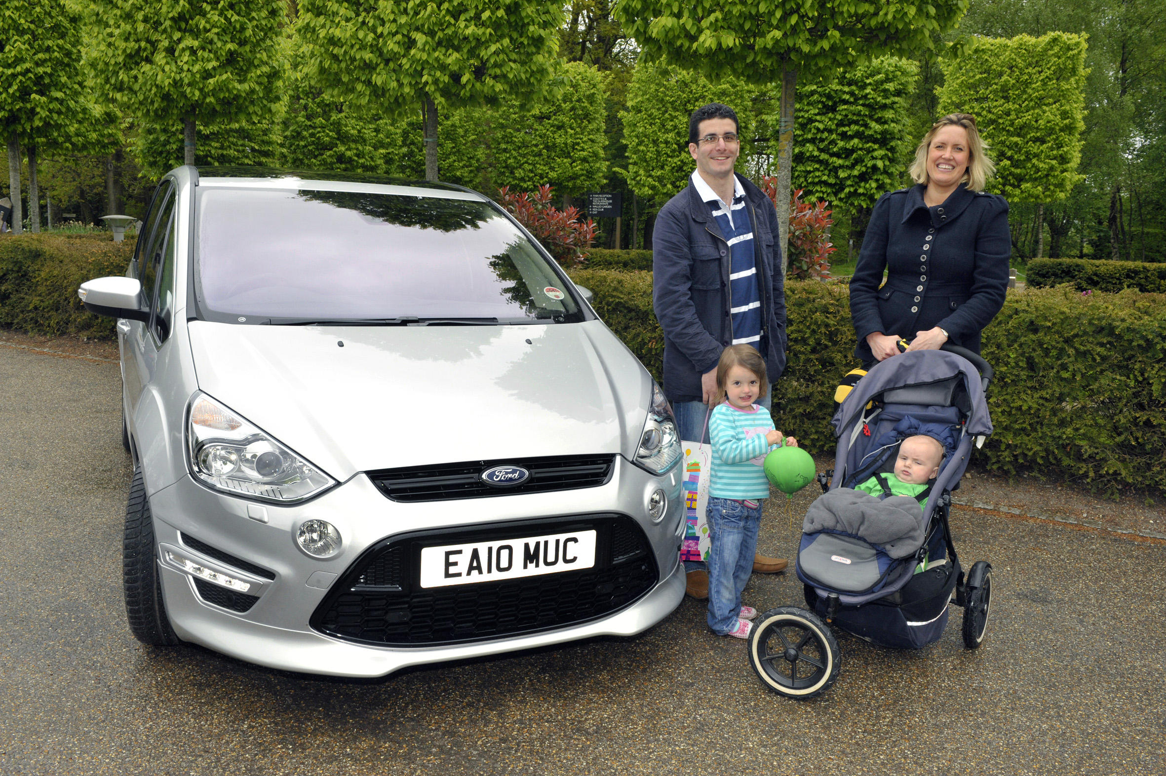 A used Ford S-Max is an ideal seven-seat family car