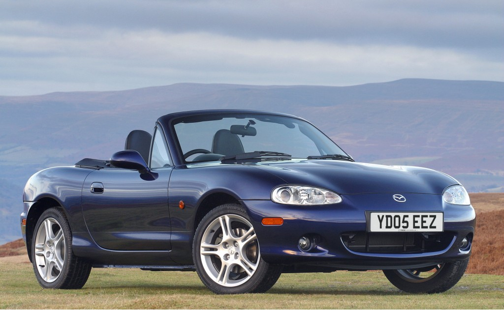 Mazda MX-5 is one of the best used sports cars for £1000