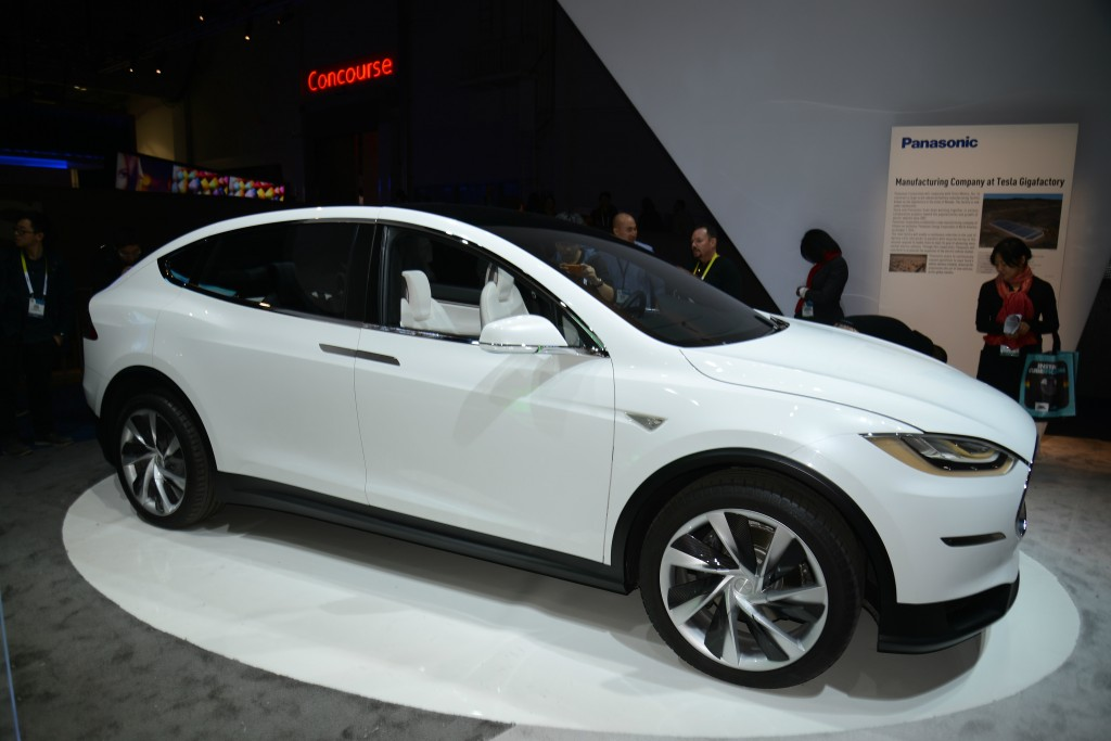 Tesla Model X SUV is available to order now