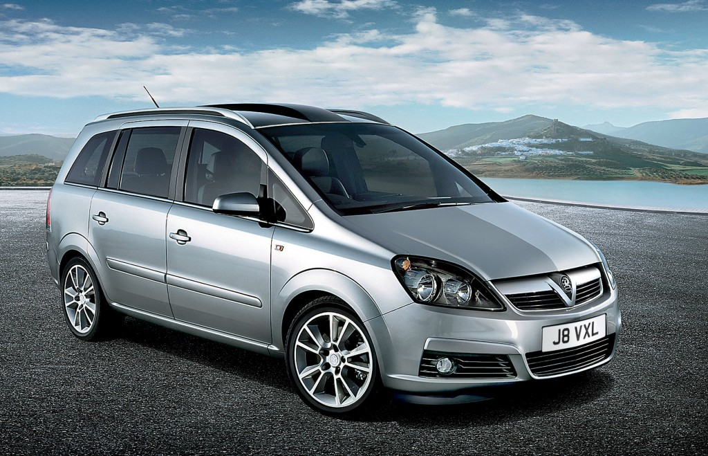 Vauxhall is offering a free safety inspection to owners of the Zafira B (above) built between 2005 and 2012