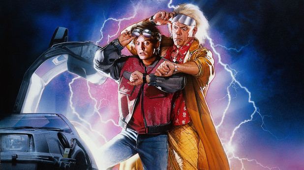 Back To The Future original artwork