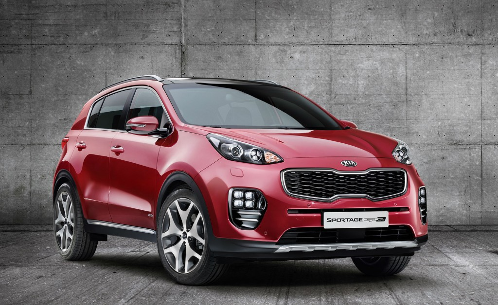 Coming to a showroom near you: the 20 hottest cars of 2016 including the Kia Sportage
