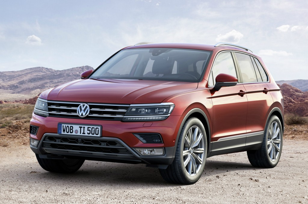 Coming to a showroom near you: the 20 hottest cars of 2016 including the Volkswagen Tiguan