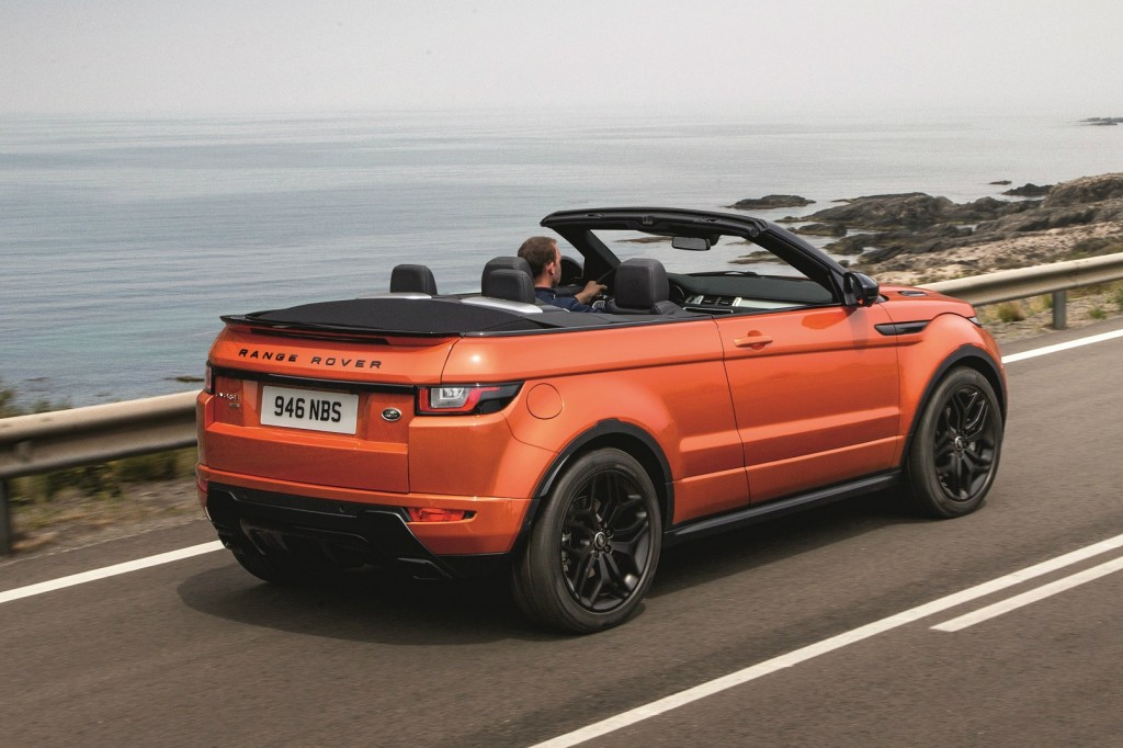 Coming to a showroom near you: the 20 hottest cars of 2016 including the Range Rover Evoque Convertible