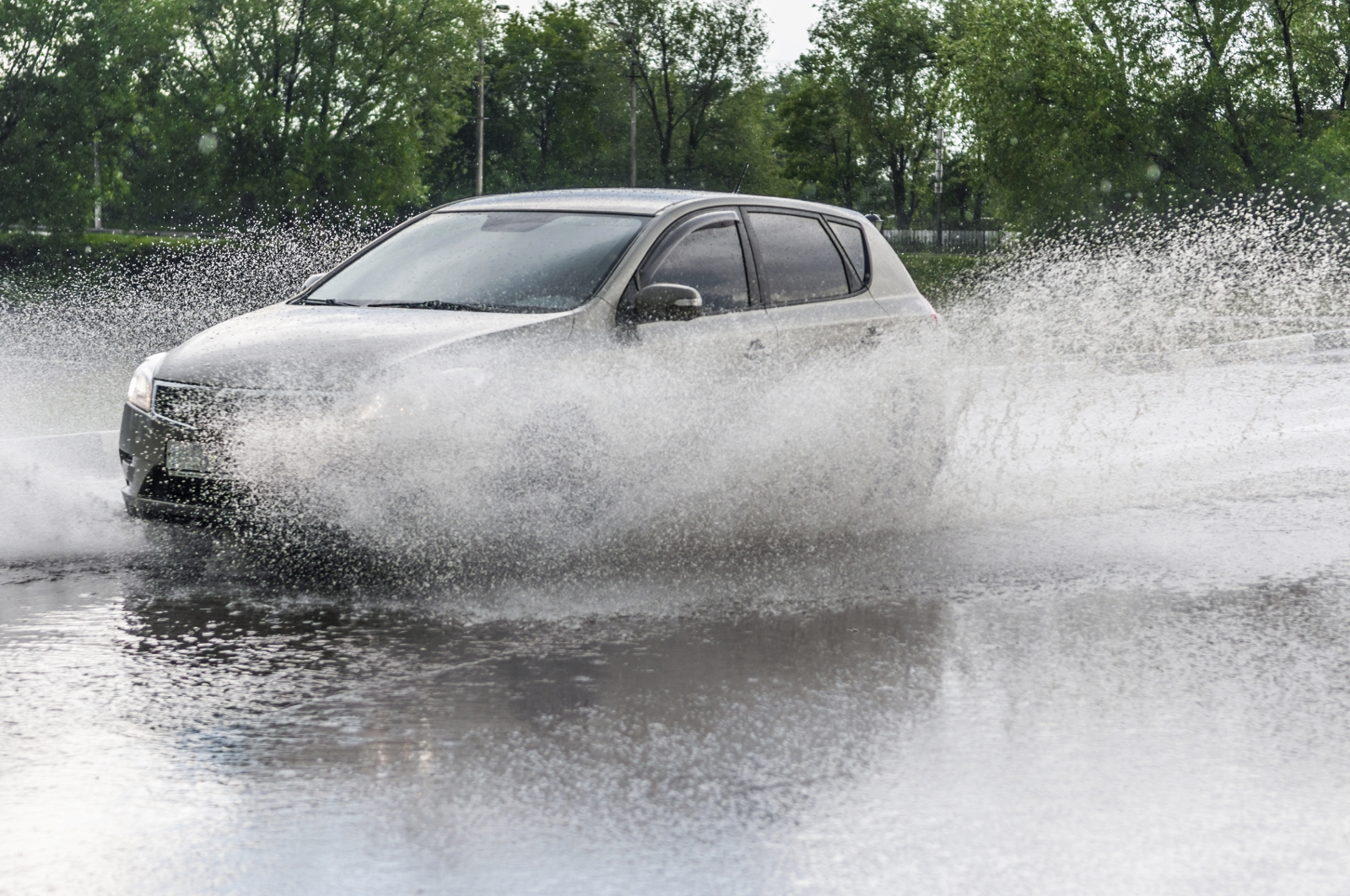 Driving in floods