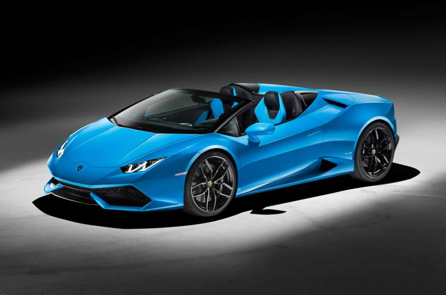 Coming to a showroom near you: the 20 hottest cars of 2016 including the Lamborghini Huracan Spyder