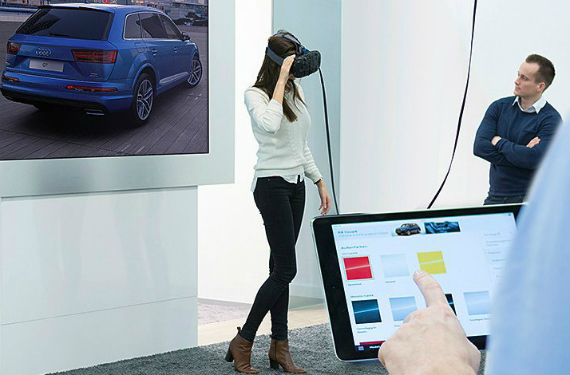 Audi will introduce virtual reality Oculus headsets to UK dealers soon