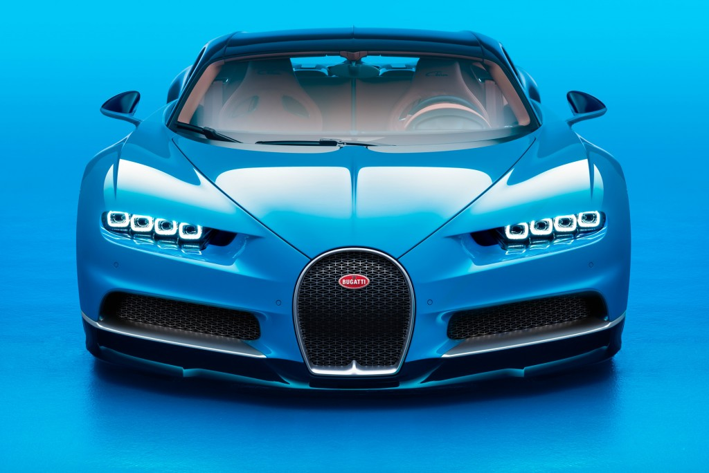 The Bugatti Chiron can achieve 261mph