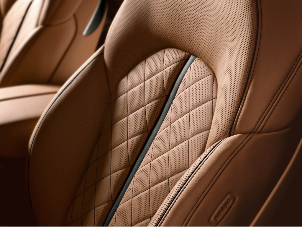 Exclusive leather package on Audi A8 costs £22,035