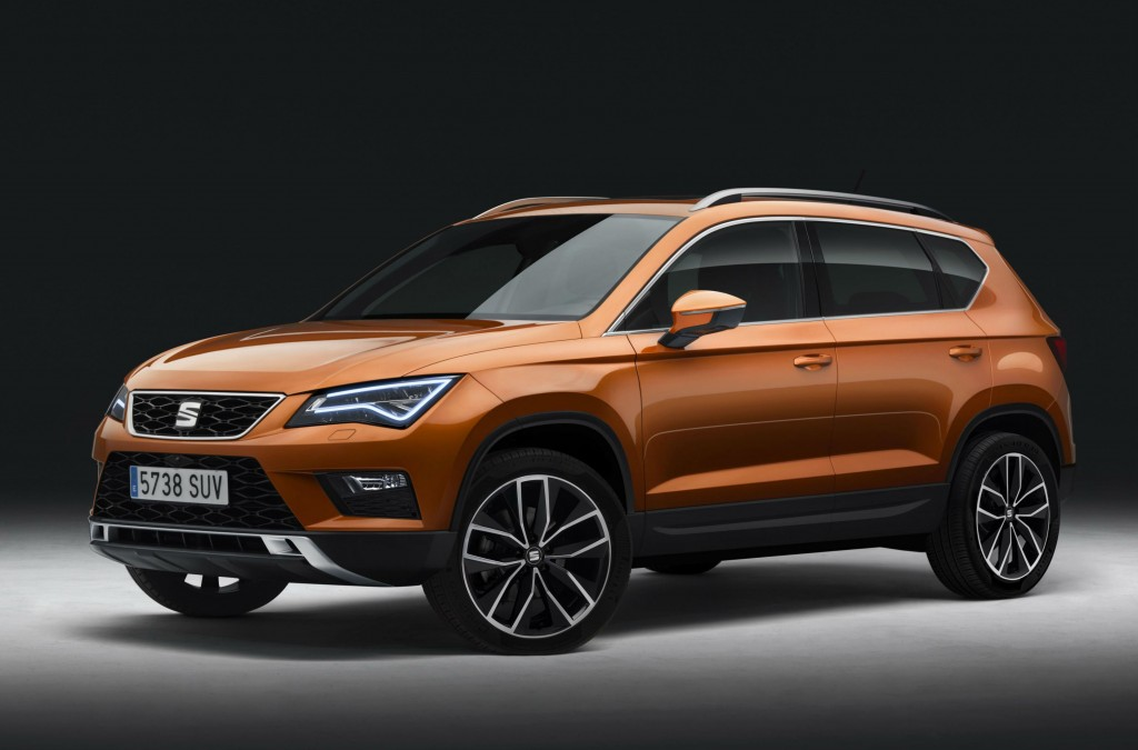 The Seat Ateca is an affordable SUV and alternative to the Nissan Qashqai