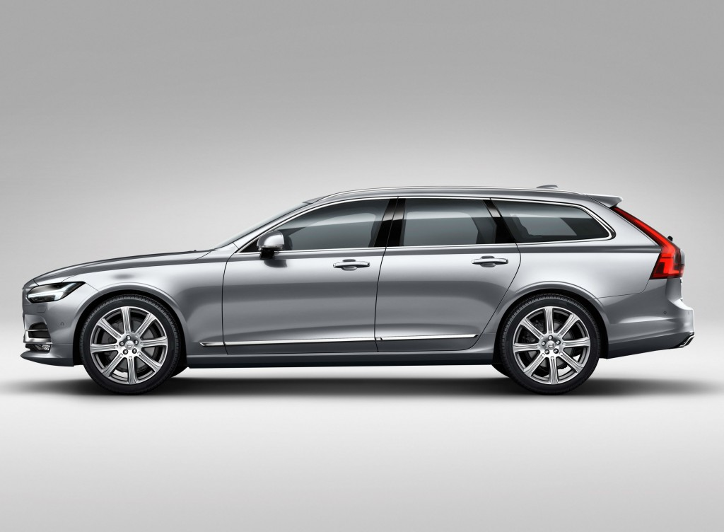 Volvo's new V90 estate car looks good but has a smaller boot than rival estates