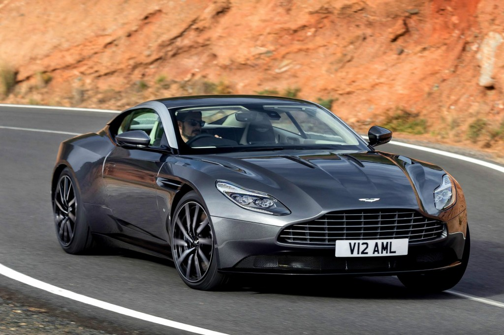 Aston Martin's DB11boasts a 600bhp twin-turbo V12 engine