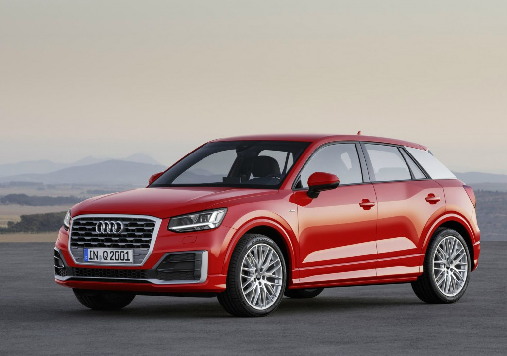 The 2016 Audi Q2 will take on the Nissan Qashqai