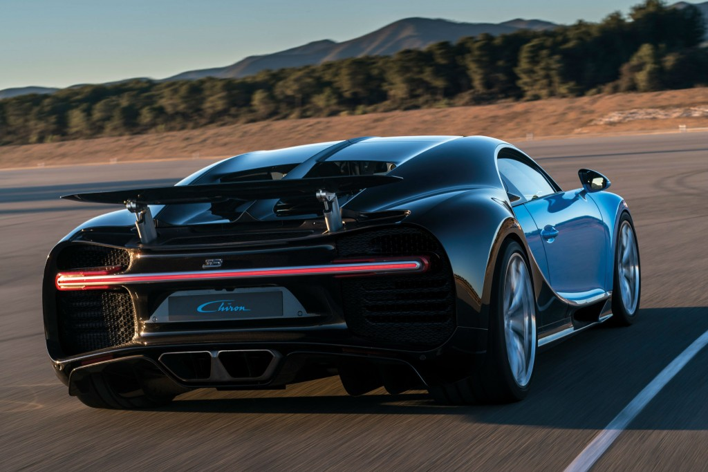 New Bugatti Chiron has an 8-litre W16 engine with 1,476bhp