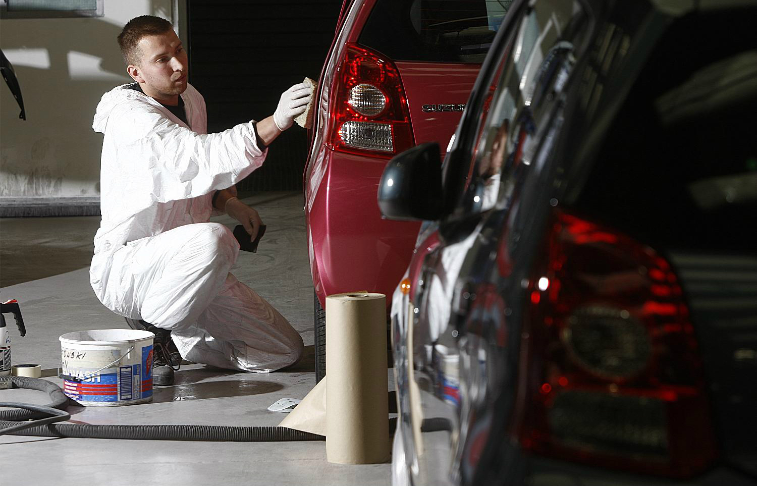 Work carried out by manufacturer-approved bodyshops is guaranteed to minimum standards