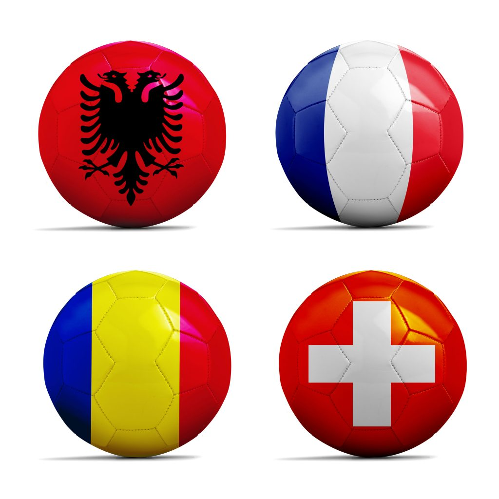 Euro 2016 cars for national teams