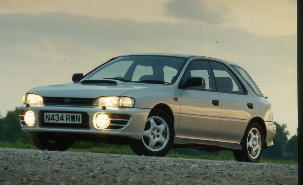 Going up in the world: 12 affordable future classic cars that are likely to increase in value. Including the Subaru Impreza Turbo