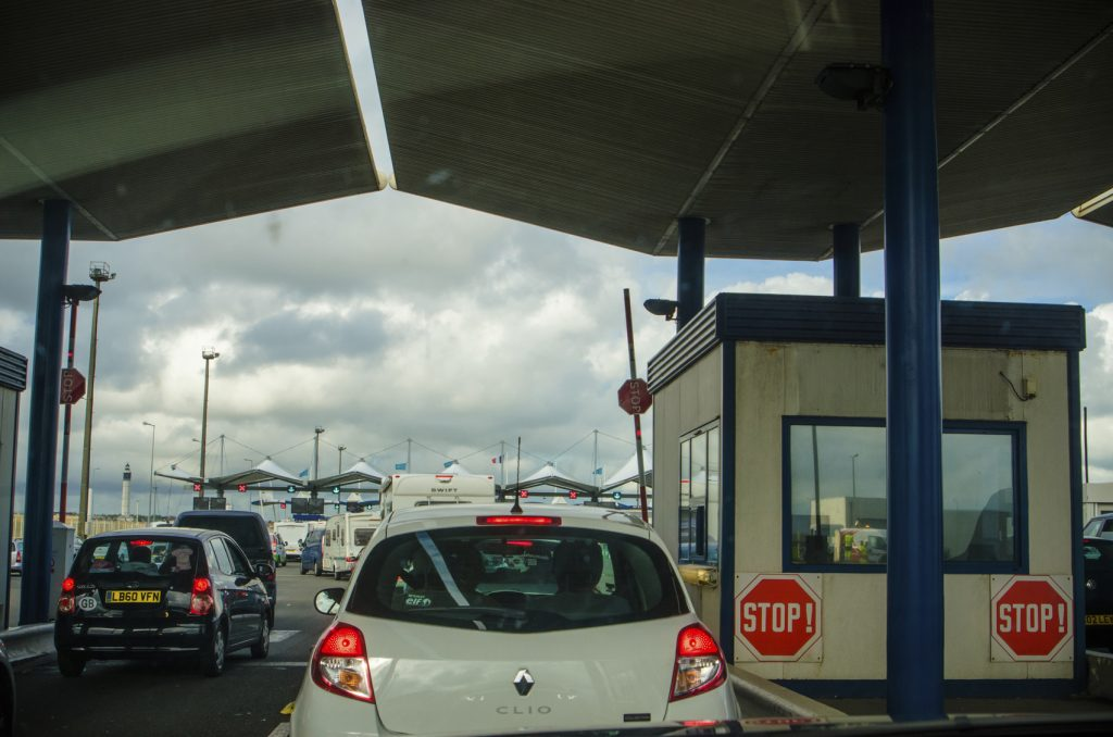 Dover traffic chaos