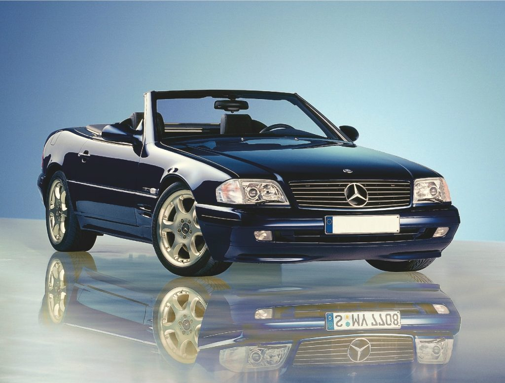 Going up in the world: 12 affordable future classic cars that are likely to increase in value. Including the Mercedes SL R129