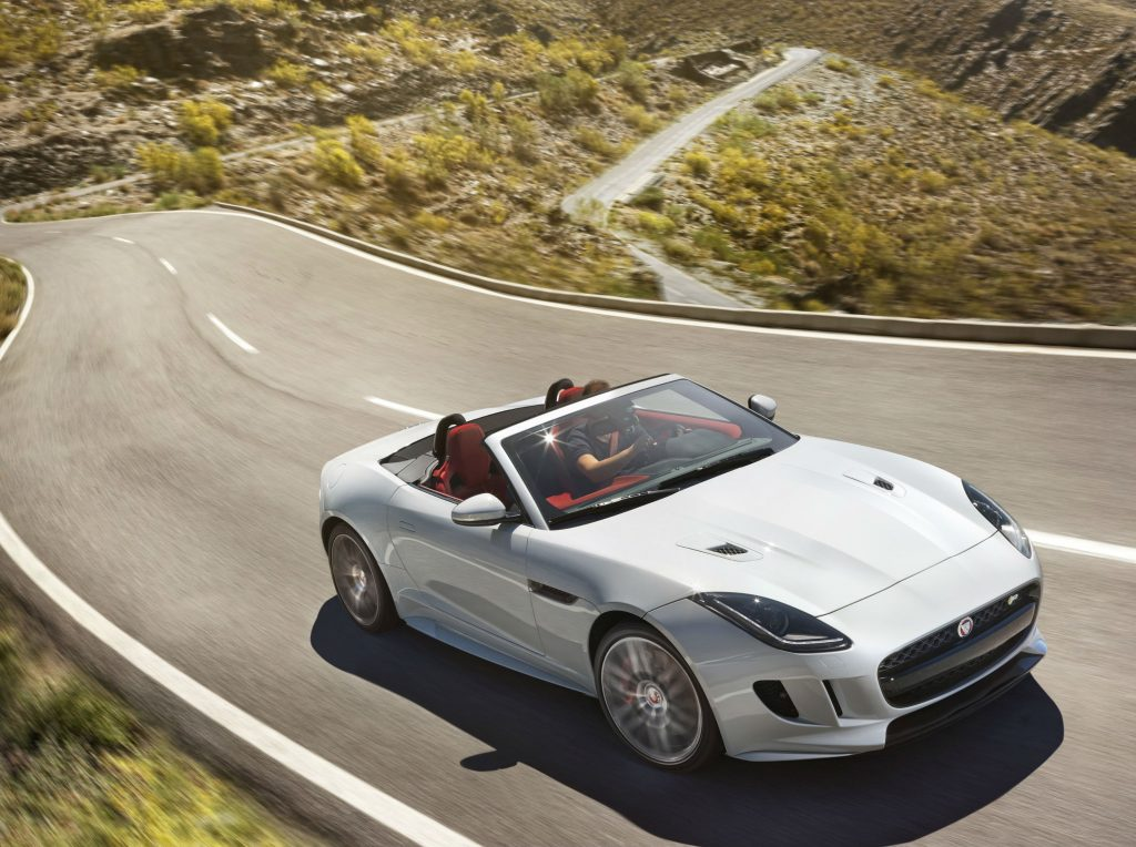 Great escapes: the best new and used cars for a road trip, featuring the Jaguar F-type convertible