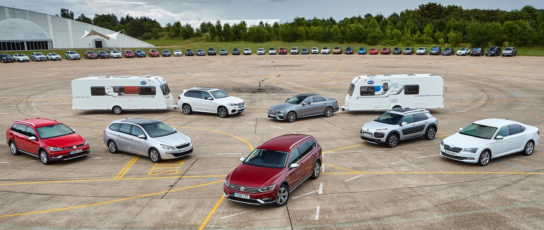 Tow Car Of The Year Best Cars For Pulling A Caravan